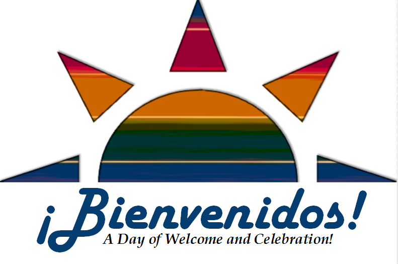 Graphic for Bienvenidos event with Sunburst