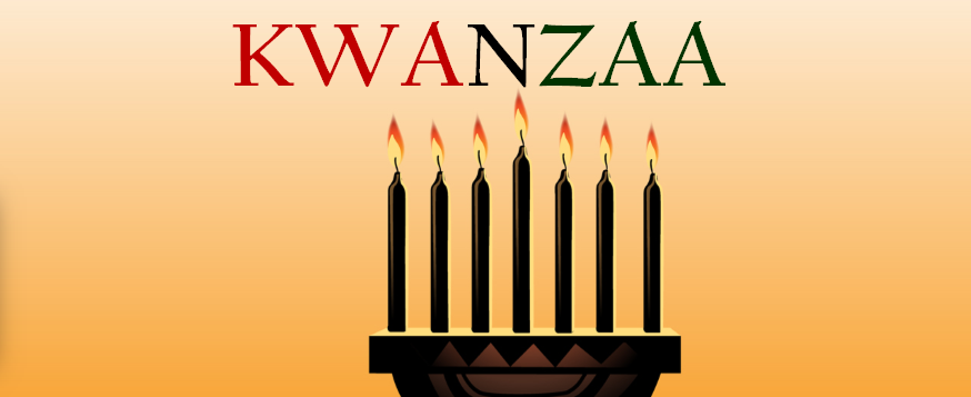 Banner advertisement for FC Kwanzaa Celebration