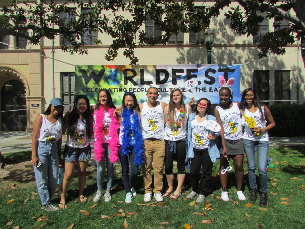 Fullerton College Students At WorldFest