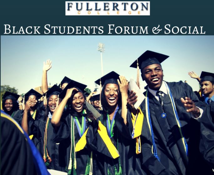 Picture of African American students at a graduation