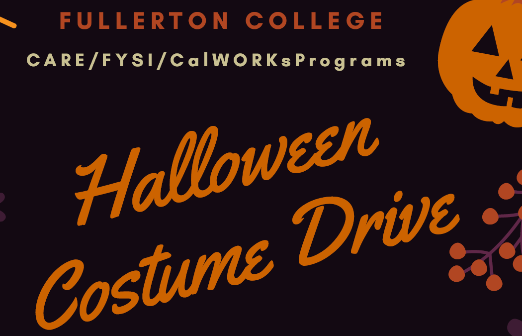 Graphic for Halloween Costume Drive