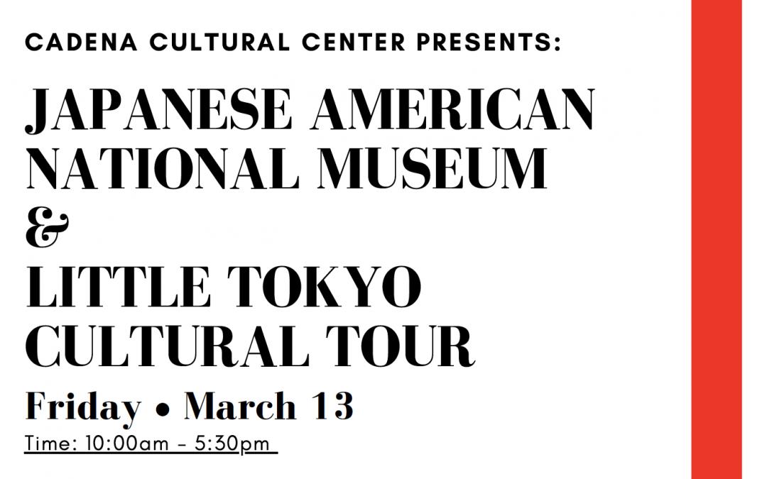 Little Tokyo Cultural Tour