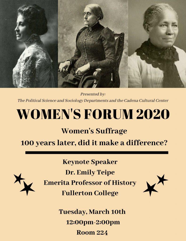 Women's Forum 2020