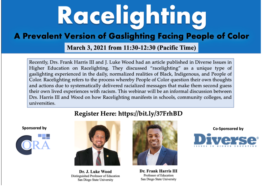 """""""Racelighting: A Prevalent Version of Gaslighting Facing People of Color"""""""